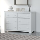 Hadley 6 Drawer Double Dresser by Graco