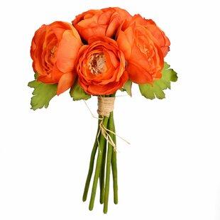 Artificial Mini Ranunculus Floral Arrangement (Set of 3)