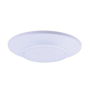 Inexpensive Krahn 1-Light LED Flush Mount By Zipcode Design