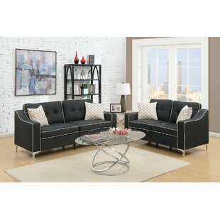 Best Reviews Filip 2 Piece Living Room Set by Ivy Bronx Reviews (2019) & Buyer's Guide