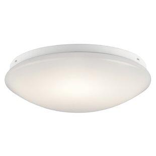 Latitude Run Bednar 1-Light LED Flush Mount