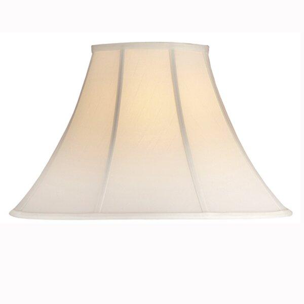 Medallion Lighting 11 5 H X 19 5 W Silk Shantung Bell Lamp Shade Spider Wayfair