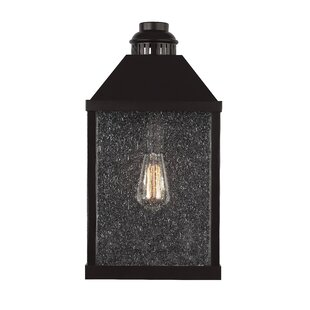 Inexpensive Decory Traditional 1-Light Outdoor Flush Mount By Gracie Oaks
