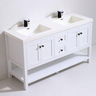 Mckinsey 62 Double Bathroom Vanity Set
