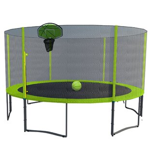 Exacme Trampoline 12' Round with Safety Enclosure