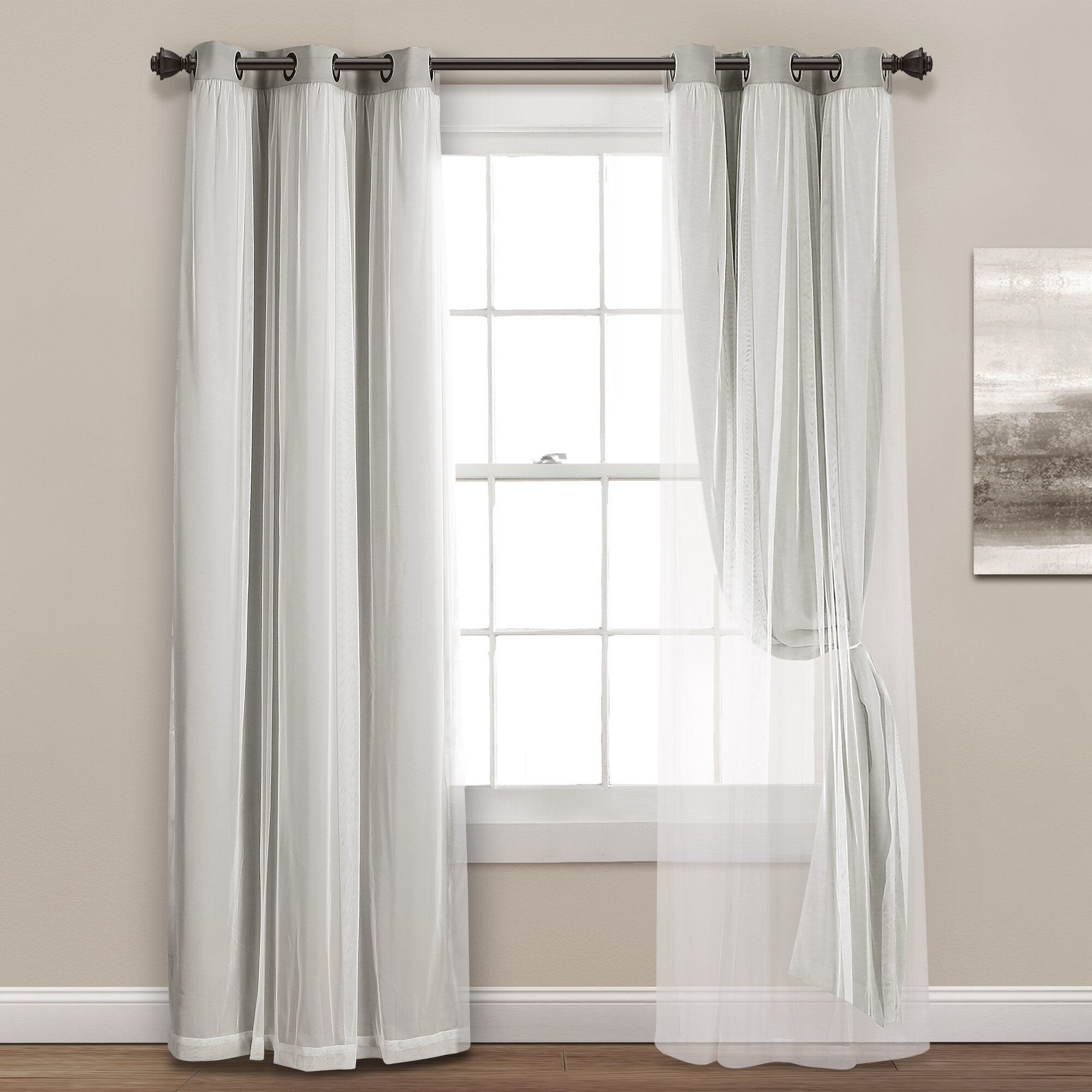 Pleasant Shabby Chic Curtains Wayfair Beutiful Home Inspiration Papxelindsey Bellcom