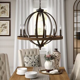 Crozier 6 Light Candle Style Chandelier