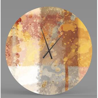 Ebern Designs Chailyn Wall Clock Wayfair Ca