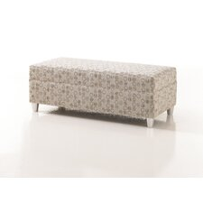 Crosby Upholstered Bariatric Bedroom Bench in Grade 4 Fabric by Studio Q Furniture