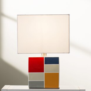 Searching for Bernadine 13.5 Table Lamp By Viv + Rae