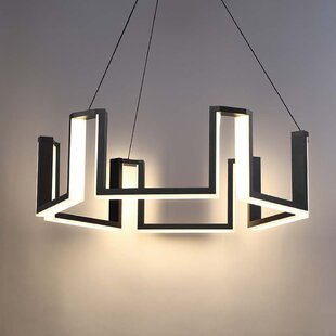 Gotham 1-Light LED Geometric Chandelier by Modern Forms