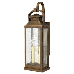 Revere 2-Light Outdoor Wall Lantern by Hi..