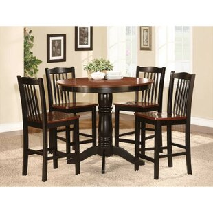 Ava 5 Piece Counter Height Dining Set
