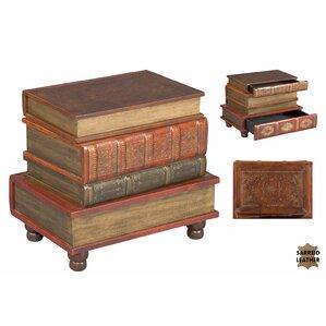 Bookbinder's End Table by Sarreid Ltd