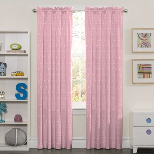 Farley Crowns Blackout Thermal Rod Pocket Curtain Panels