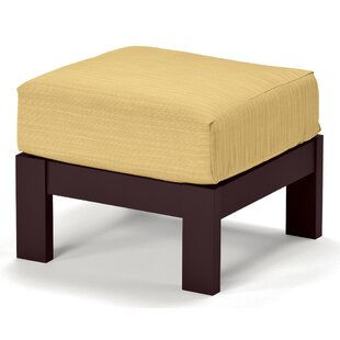 Leeward Deep Ottoman with Cushion by Telescope Casual