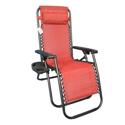 Freeport Park Orrington Folding Zero Gravity Chair