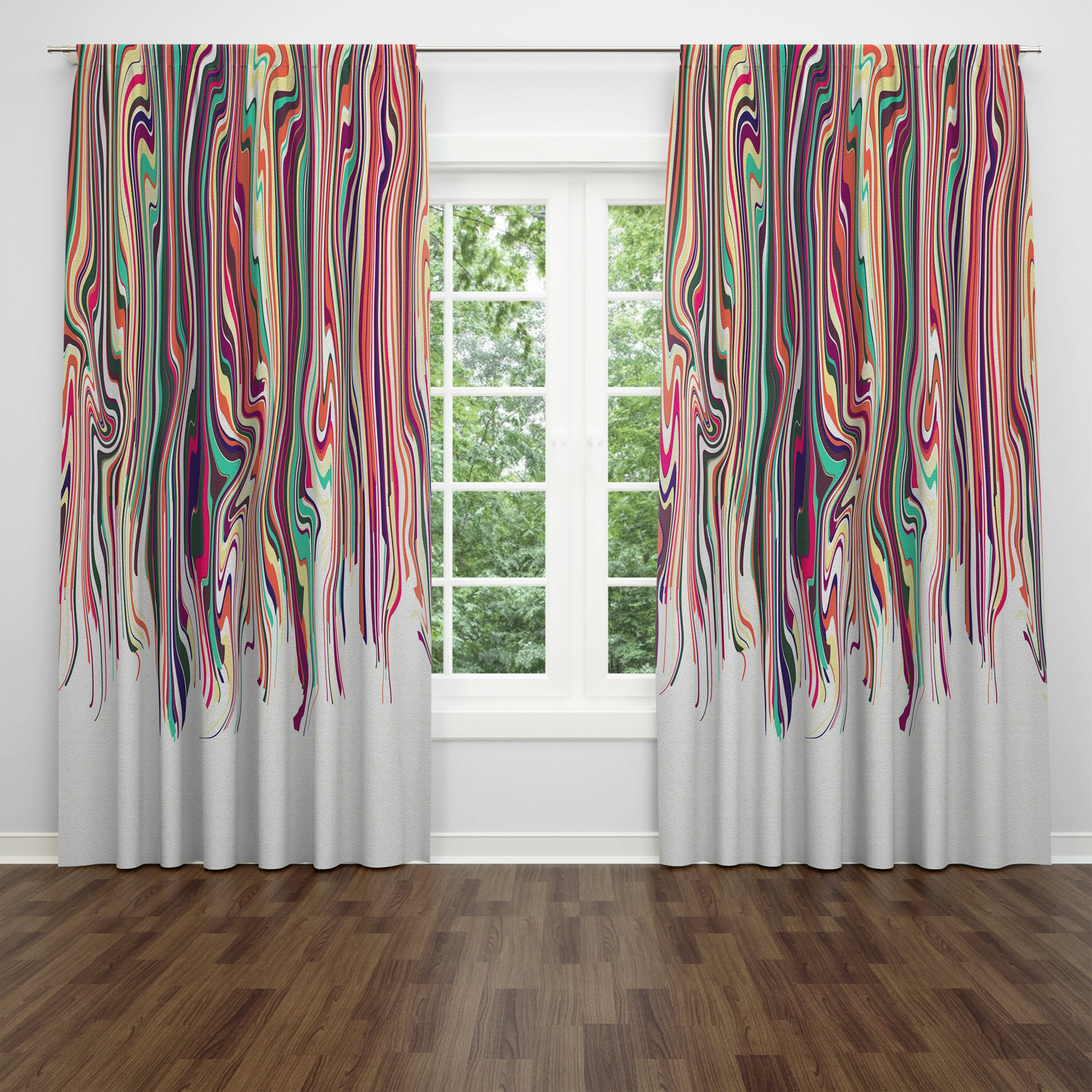 Folk N Funky Eclectic Hippie Window Curtains Panels Wayfair