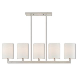 Zipcode Design Mai Linear 5-Light Kitchen Island Pendant