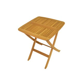 Windsor Folding Teak Bistro Table