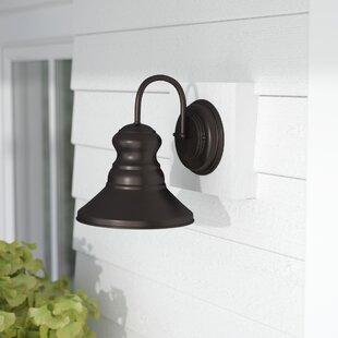 Beachcrest Home Russet 1-Light Outdoor Barn Light