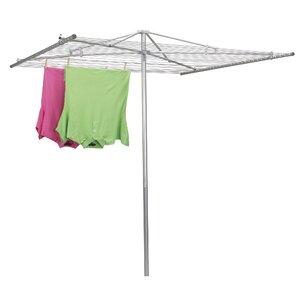 Steel Outdoor Parallel Umbrella Clothesline