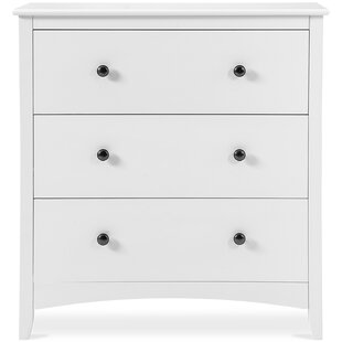 Sherman 3 Drawer Chest Of Drawer By August Grove