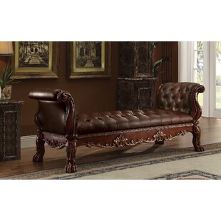 Selma Wood Bench by Astoria Grand