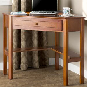 anka 1 drawer corner writing desk