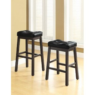 Aamin 30 Bar Stool Set of 2 by Red Barrel Studio
