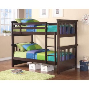 Aptos Bunk Twin Over Twin Bed by Harriet Bee Great price