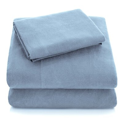 Flannel 82 Thread Count 100% Cotton Sheet Set Alwyn Home
