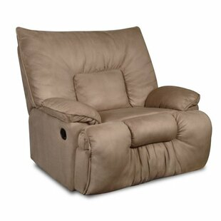 Read Reviews Cambarville Manual Recliner by Simmons Upholstery by Red Barrel Studio Reviews (2019) & Buyer's Guide