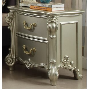 Landor 2 Drawer Nightstand