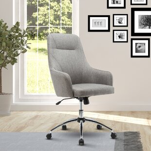 Ebern Designs Fowler Comfy Height Adjustable Rolling Office High-Back Executive Chair