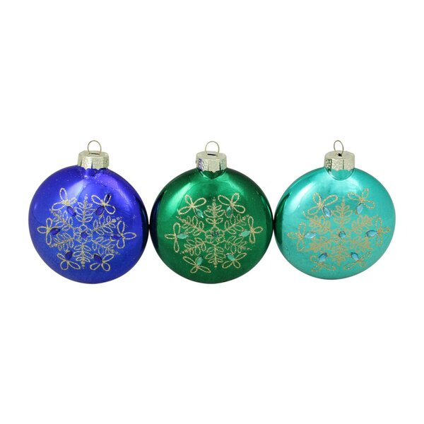Emerald Green Ornaments Wayfair