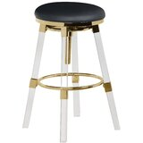 Viergeline Bar & Counter Swivel Stool (Set of 2) by Everly Quinn