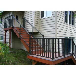 Aluminum Top And Bottom Stair Railing By Vista Railing Systems Inc