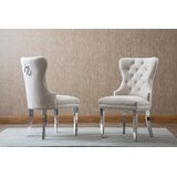 Zephyrine Upholstered Dining Chair (Set of 2) by Mercer41