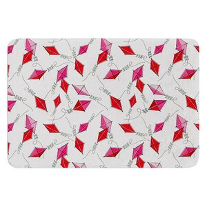 Go Fly A Kite by Heidi Jennings Bath Mat