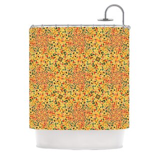 Swept Away II Single Shower Curtain