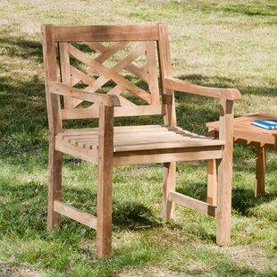 Wildon Home ® James Teak Patio Chair