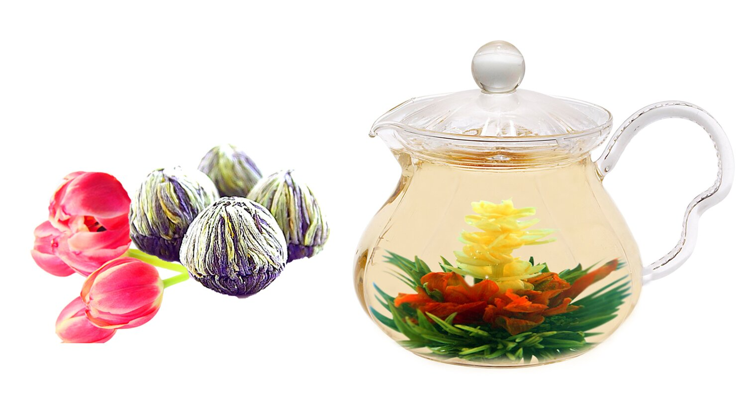 Tea Beyond Fairy 063 Qt Jasmine Fab Flowering Teapot Reviews