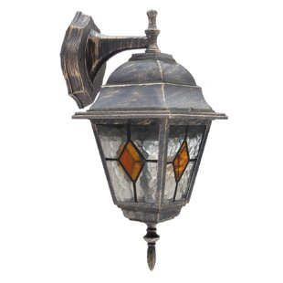 Hallam Outdoor Wall Lantern By ClassicLiving