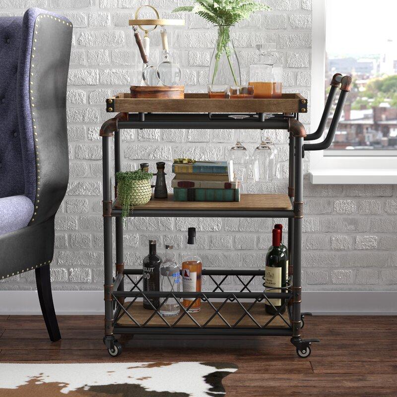 Trent Austin Design Oakfield Bar Cart Amp Reviews Wayfair