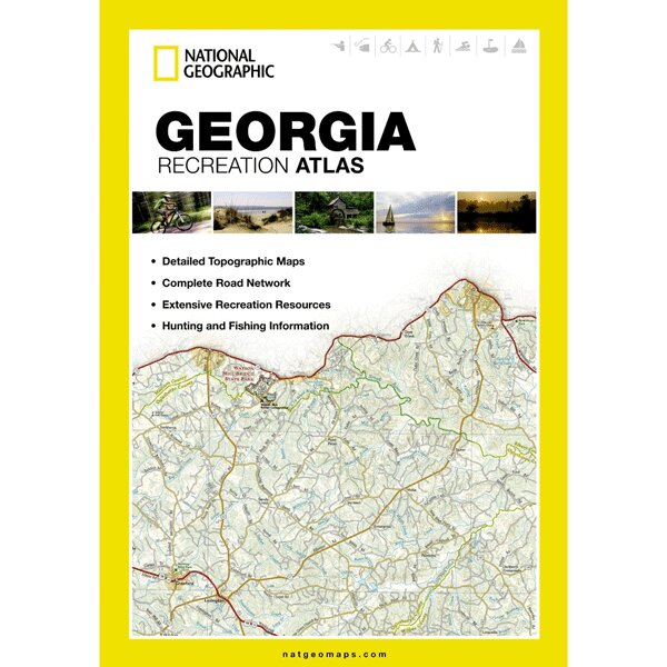 Universal Map Georgia State Recreation Atlas | Wayfair