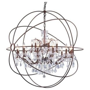 Rosdorf Park Okello 15-Light Globe Chandelier