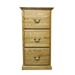 Loon Peak Hutchins 3-Drawer File Cabinet