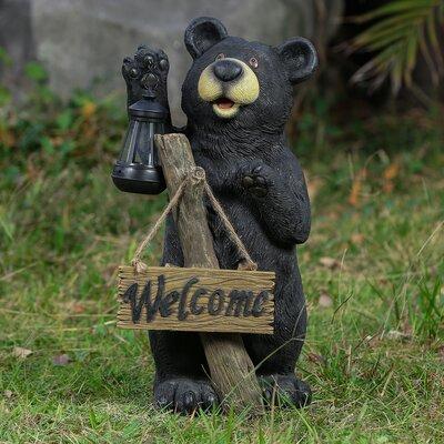 Bear Welcome Statue Wayfair
