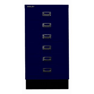 39er 6 Drawer Filing Cabinet By Bisley